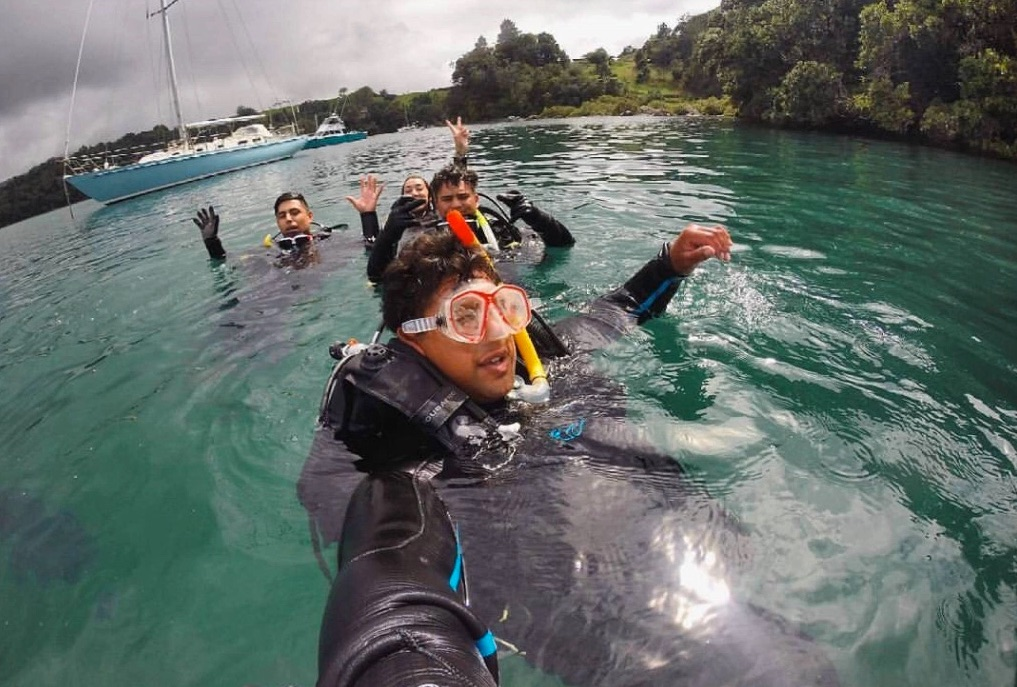 Diploma in Professional Scuba Instruction – 2016